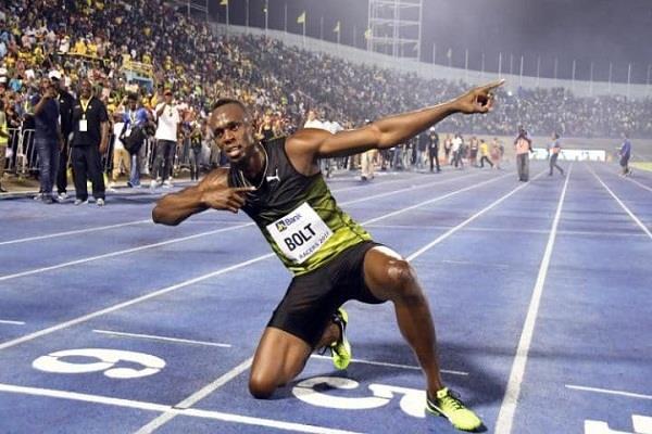 जमैका में अपनी अंतिम रेस में दौड़े 'फर्राटा किंग' उसेन बोल्ट
