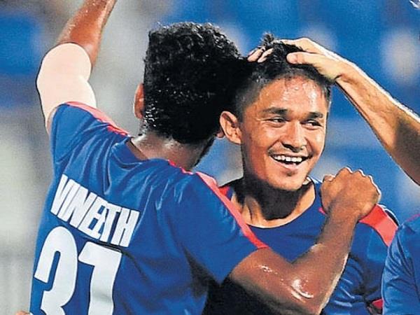 दोस्ताना फुटबॉल मैच में भारत का पलड़ा नेपाल पर भारी