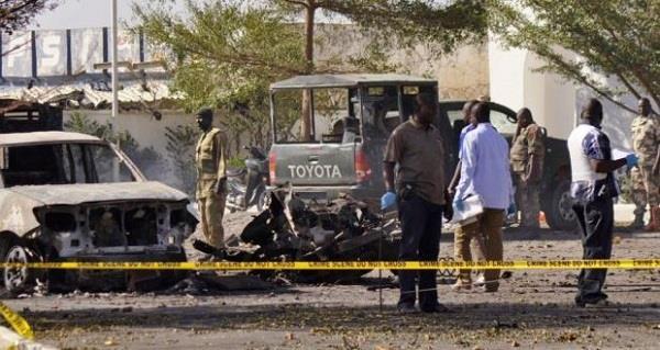 नाइजीरियाः विस्थापित के शिविर पर हमले में 21 मरे
