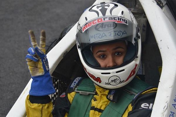 यूरो जेके सीरीज की पहली महिला ड्राइवर बनीं मीरा