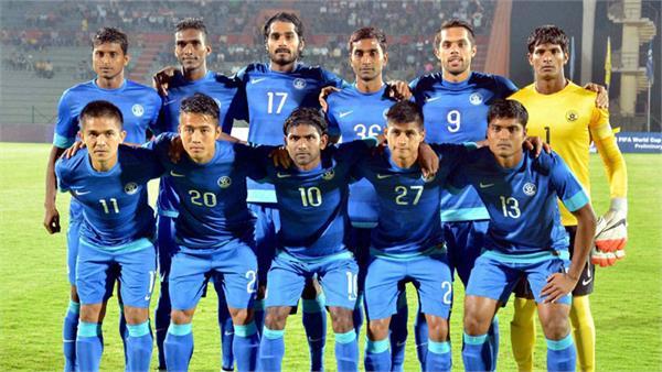 अब किर्गिस्तान के खिलाफ मैच पर भारतीय फुटबाल टीम की नजरें