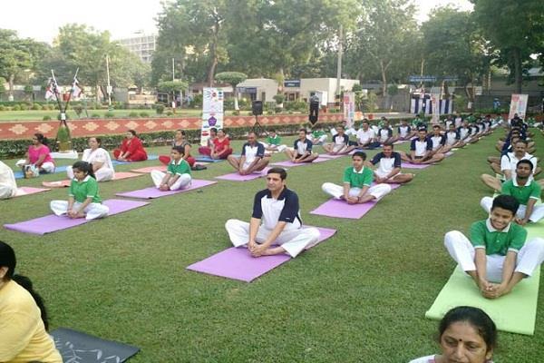 जम्मू में योग दिवस को भव्य बनाने में जुटी भाजपा
