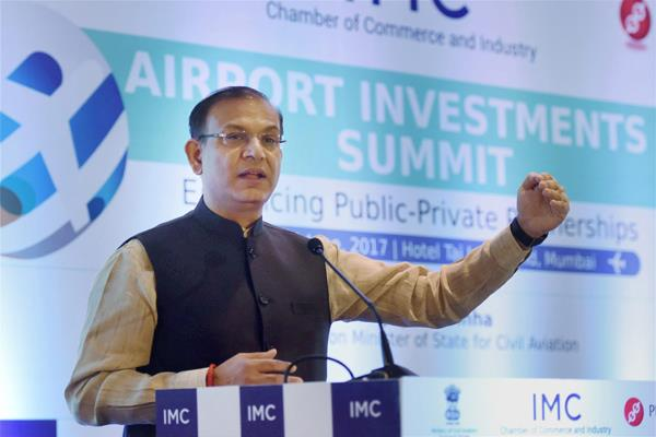 एयर इंडिया पर फैसला मंत्रिमंडल करेगा: सिन्हा