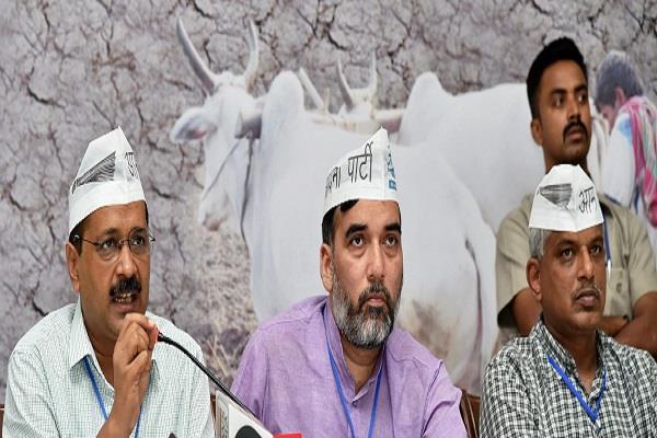 केजरीवाल का PM पर हमला, मोदी ने किसानों की पीठ में छुरा घोंपा