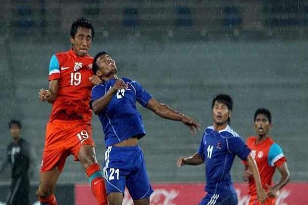 अंतरराष्ट्रीय मैत्री फुटबॉल मैच भारत ने नेपाल को 2-0 से पीटा