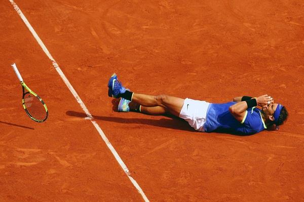 राफेल नडाल ने रिकॉर्ड दसवां फ्रेंच आेपन खिताब जीता