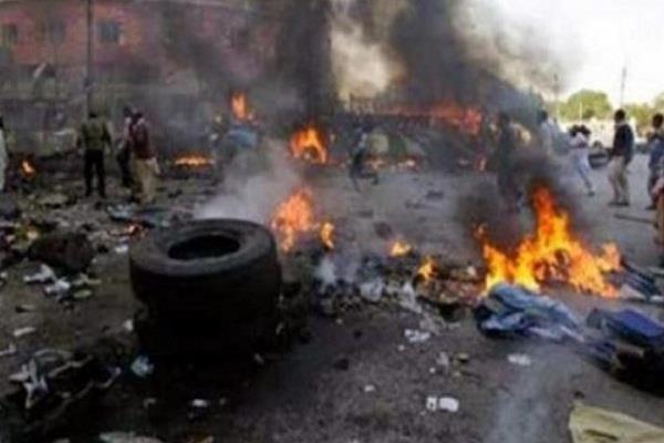 नाइजीरिया में आत्मघाती हमले में आठ लोगों की मौत