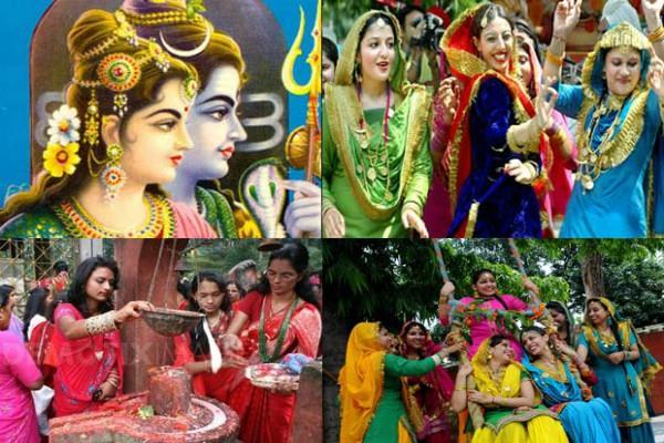 सावन के पावन रंग, मनाए जाते हैं इन त्योहारों के संग