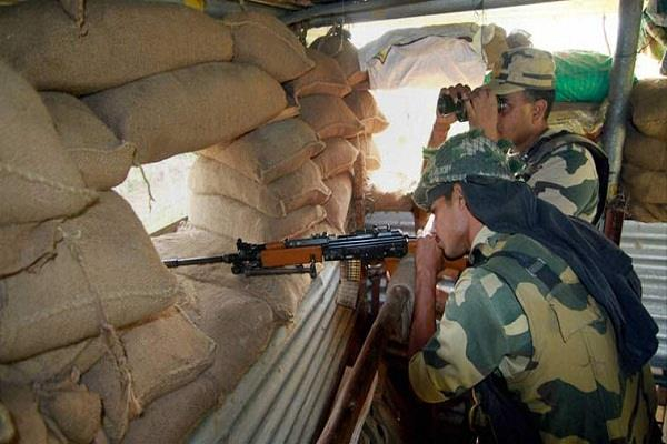 पाकिस्तान ने एक बार फिर किया सीजफायर का उल्लंघन, 1 सैनिक घायल
