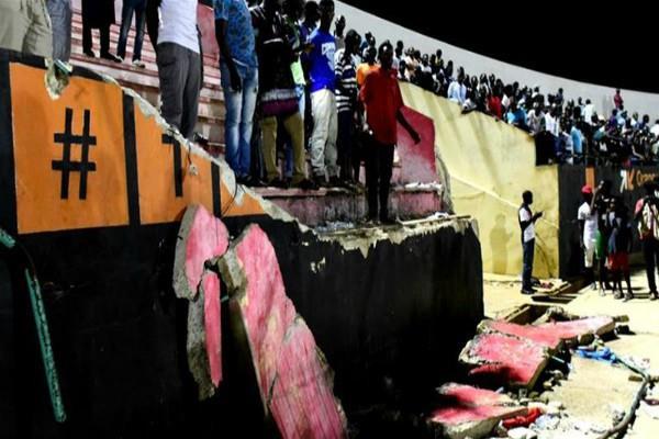 सेनेगल फुटबॉल स्टेडियम में भगदड़ मचने से 8 लोगों की मौत