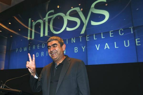 Infosys ने कमाया 3483 करोड़ रुपए का मुनाफा