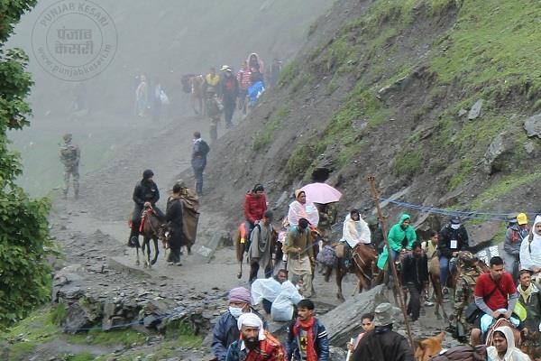अमरनाथ यात्रा: जम्मू से रवाना हुआ 294 यात्रियों का नया जत्था