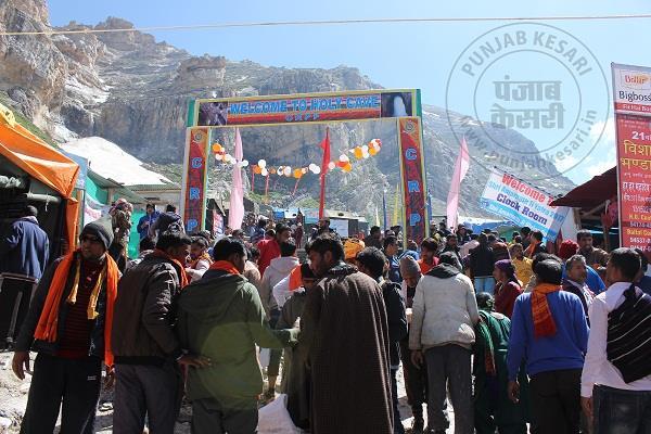 अमरनाथ यात्रा: गुफा में अब तक 1,77,134 भक्तों ने किए हिमशिवलिंग के दर्शन