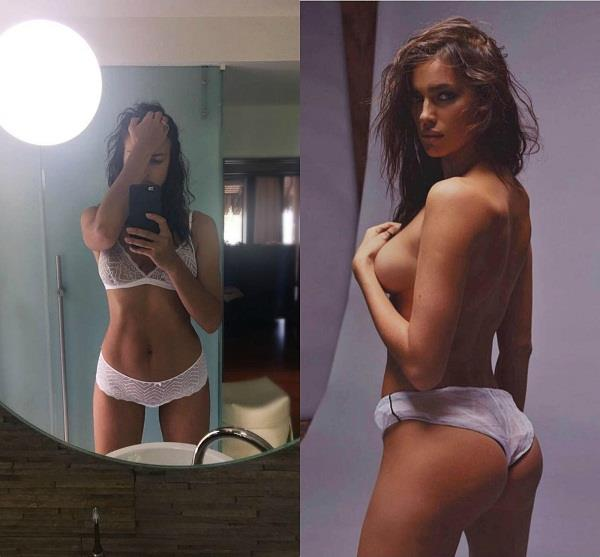 irina shayk share hot pics