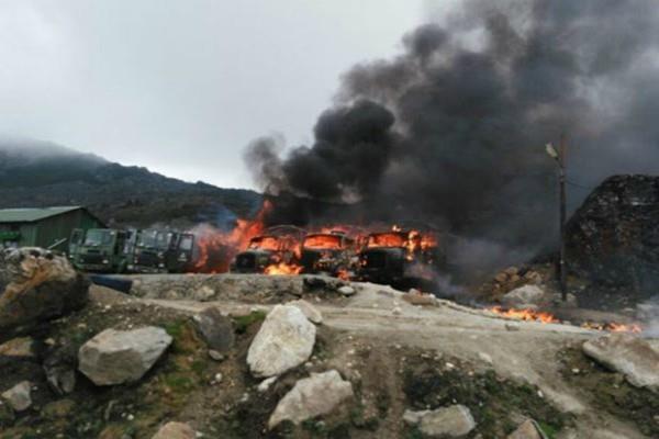 PAK मीडिया ने जारी की फोटो, कहा- चीन के हमले में मारे गए 158 भारतीय सैनिक