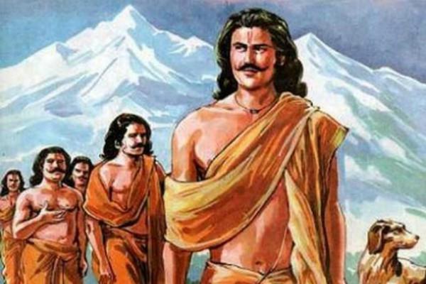 युधिष्ठिर ने स्वर्ग को छोड़ भाइयों और द्रौपदी के साथ नर्क में रहना चाहा