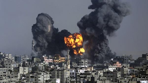 इस्राइल का गाजा पर हमला, हमास ने भी दागी मिसाइल