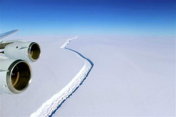दिल्ली से 4 गुना हिमशैल अंटार्कटिका से टूटा, डूब सकते हैं भारत के ये क्षेत्र