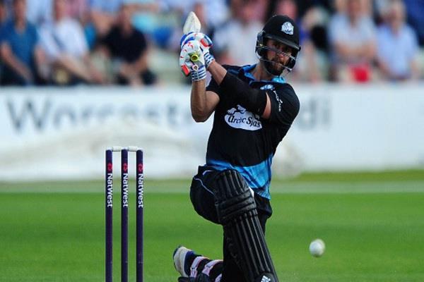 अब इस बल्लेबाज ने जड़े T-20 मैच में लगातार 6 छक्के, देखें वीडियो