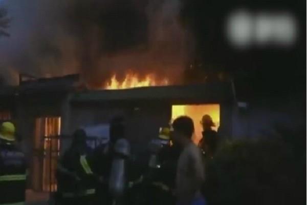 चीन: दो मंजिला इमारत में आग लगने से 22 की मौत