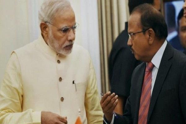सीमा विवाद: डोभाल ने PM मोदी को दी हालात की जानकारी