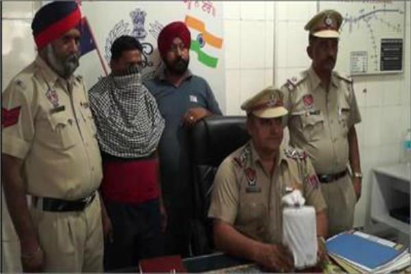 लुधियाना रेलवे स्टेशन सेडेढ किलो अफीम सहित 1 गिरफ्तार