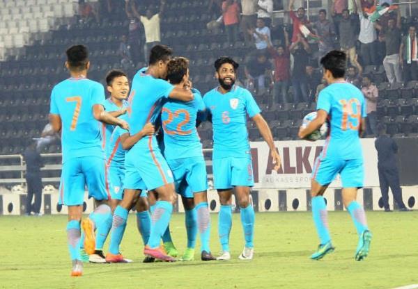 भारत ने अंडर-23 फुटबाॅल चैंपियनशिप में तुर्कमेनिस्तान को हराया