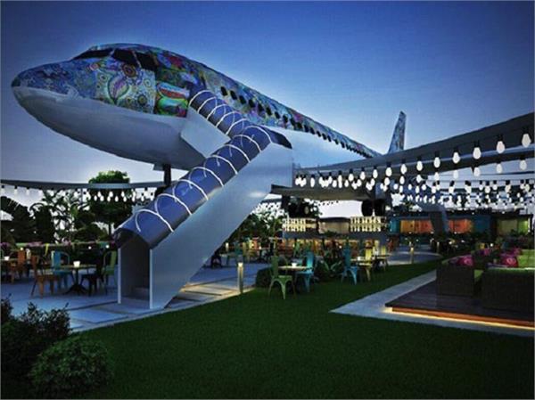 भारत का अनूठा रेस्टोरेंट जो बना है Airplane के बीच