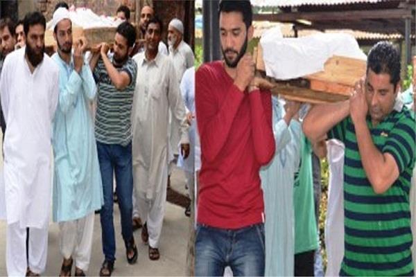 कश्मीर में दिखी सांप्रदायिक सौहार्द की मिसाल, मुस्लिमों ने किया हिन्दू पंडित का अंतिम संस्कार