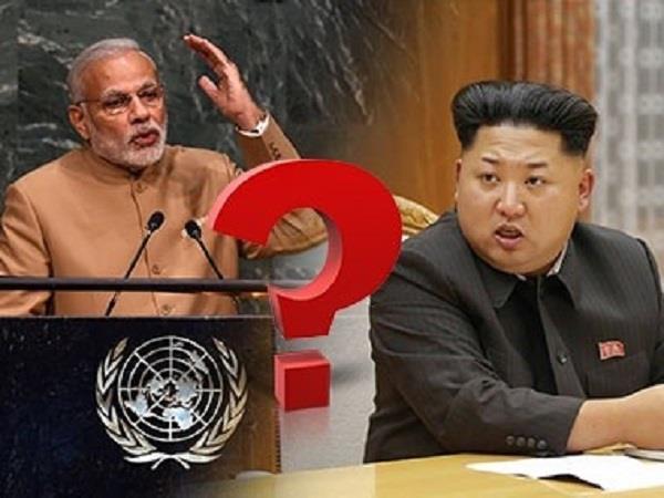 भारत ने उत्तर कोरिया पर कसी लगाम