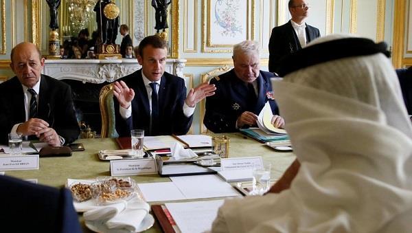 खाड़ी संकट सुलझाने में फ्रांस की पहल