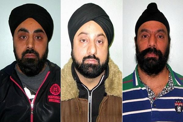 अफगानों की ब्रिटेन में तस्करी करने को लेकर तीन ब्रिटिश सिखों को जेल