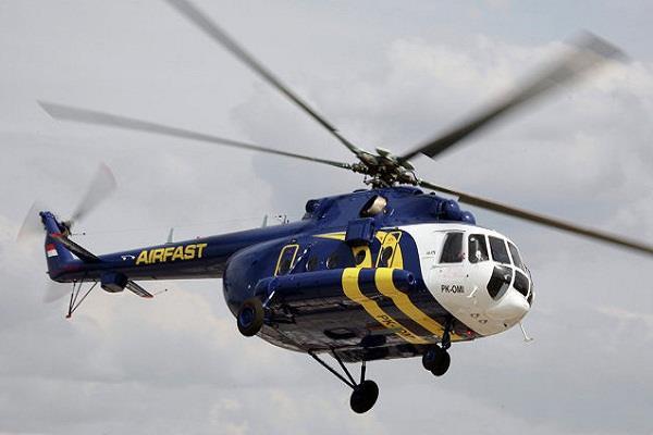रूस ने पाक को MI 171 E असैन्य हेलीकाप्टर भेजे