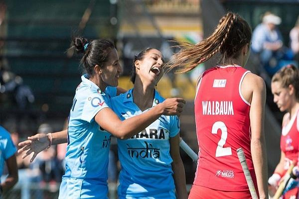 महिला हॉकी विश्व लीग: चिली को हराकर क्वार्टर फाइनल में पहुंचा भारत