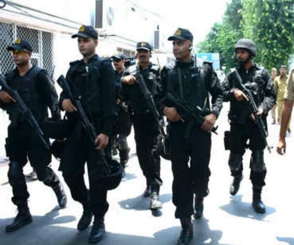 सुरक्षा प्रबन्ध जांचने के लिए ATS ने विधानभवन में की 'मॉकड्रिल'