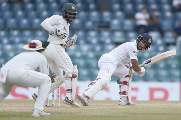 रोमांचक मोड़ पर पहुंचा श्रीलंका-जिम्बाब्वे का एकमात्र टेस्ट