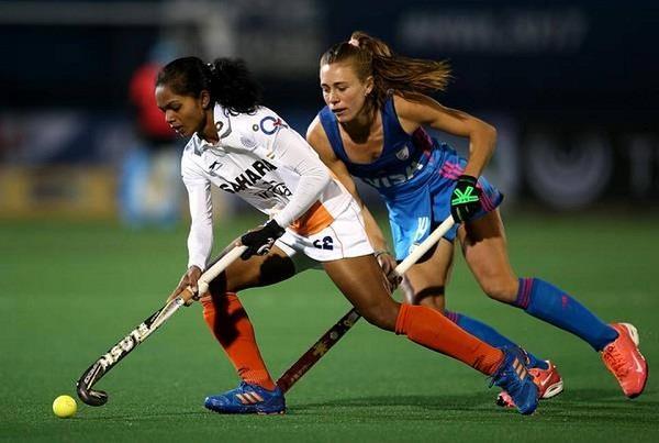 भारतीय महिला हॉकी टीम को अर्जेंटीना से मिली 0-3 से करारी शिकस्त