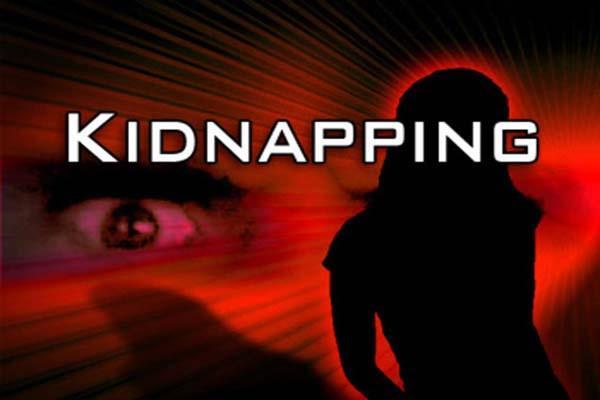 नाबालिग लड़की किडनैप, 6 दिन बाद दर्ज हुआ मामला