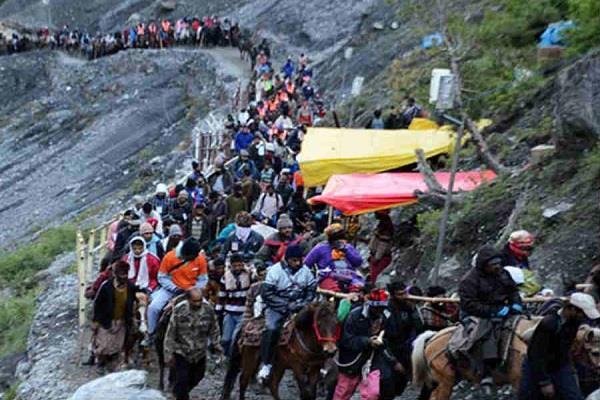 'श्री अमरनाथ यात्रियों' की अडिग आस्था और साहस को 'नमन'