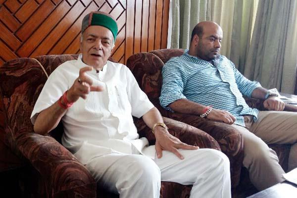 भरमौरी ने साधा निशाना, कहा-टिकट के लिए गद्दी समुदाय को भड़का रहे किशन कपूर