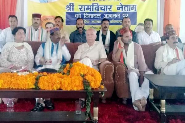गद्दी समुदाय चुनाव में लेगा लाठीचार्ज का बदला : नेताम