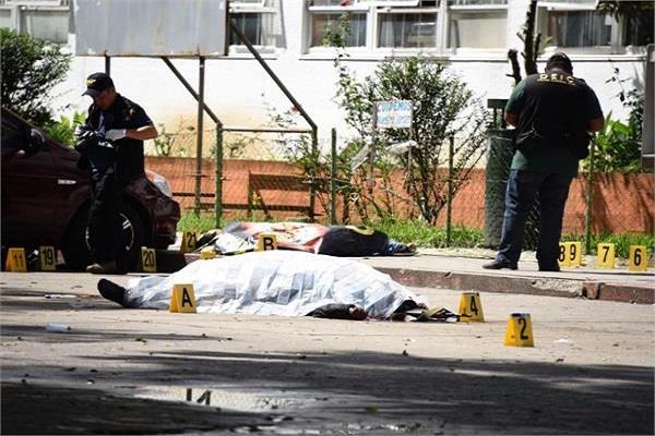 ग्वाटेमाला में संदिग्ध गैंग के हमले में 6 लोगों की मौत
