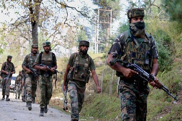 पुलवामा में चलाया गया सर्च ऑपरेशन, आतंकियों के छिपे होने की आशंका