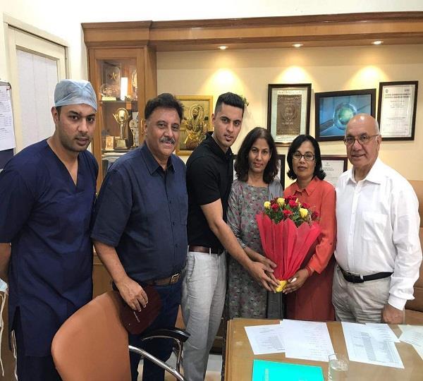 यू.के. की पार्लियामैंट के सदस्य विरेन्द्र शर्मा ने किया विर्क अस्पताल का दौरा