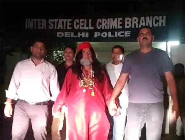swami arrested by police