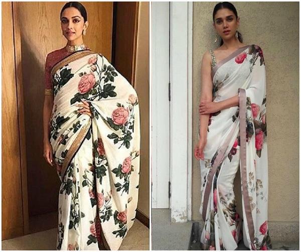 Deepika or Aditi: सब्यसाची की डिजाइनर साड़ी में कौन लगी परफैक्ट?