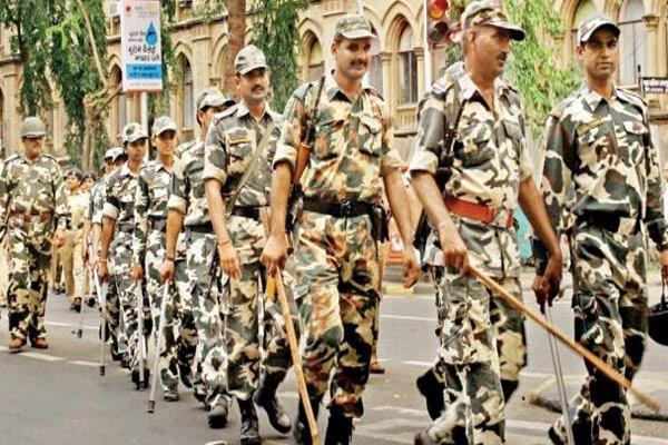 केंद्र ने दी हरियाणा को 35 अर्धसैनिक बलों की कंपनियां, रविवार से संभालेंगी मोर्चा