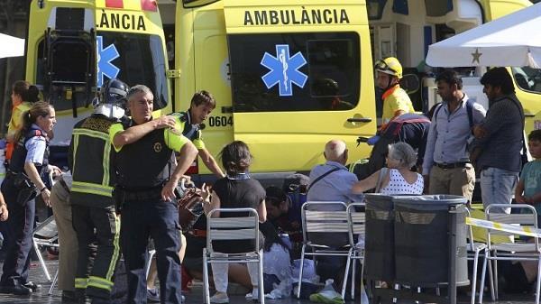 बार्सिलोना आतंकी हमले में शामिल 3 संदिग्धों की पहचान