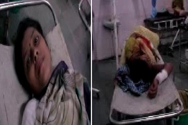 गोगामेड़ी जा रहे श्रद्धालुअों की पिकअप पेड़ से टकराई, 13 लोग घायल