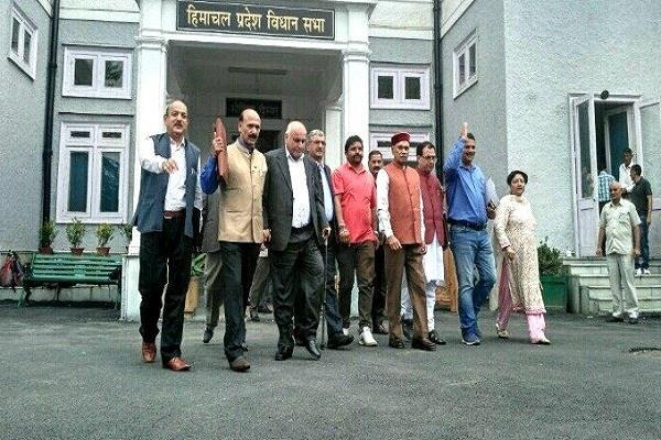 कोटखाई केस पर पहले ही दिन सदन में हंगामा, BJP ने किया वॉकआउट